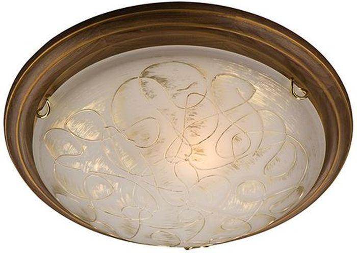Светильник потолочный Sonex Provence Brown, 2 х E27, 100W. 203203