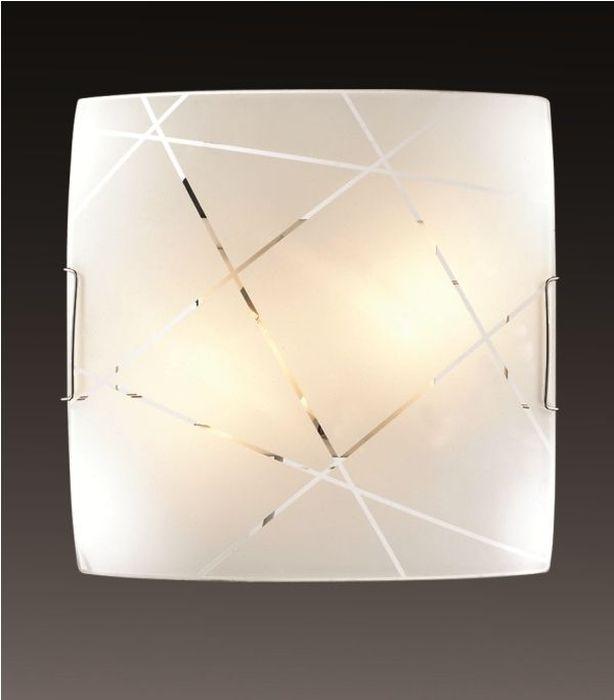 Светильник потолочный Sonex Vasto, 2 х E27, 100W. 2144 светильник 2144 vasto sonex 951399