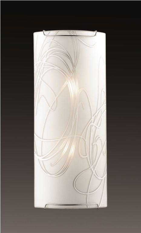 Cветильник настенный Sonex Molano, 2 х E14, 60W. 22432243