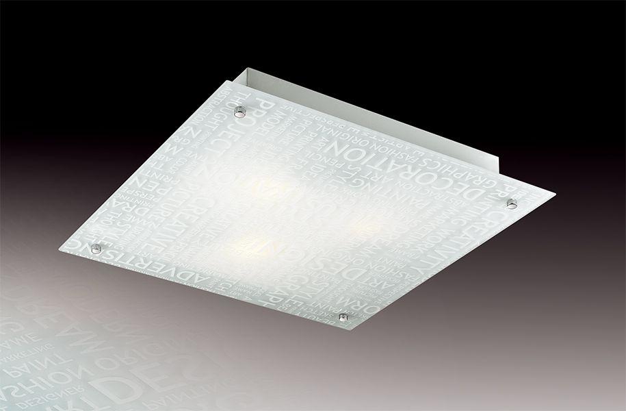 Светильник потолочный Sonex Grafika, 3 х E27, 60W. 32573257