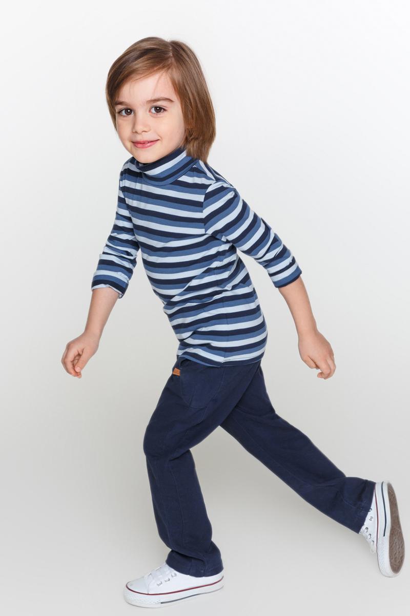 Водолазка для мальчика Acoola Cowslip, цвет: темно-синий. 20120100079_600. Размер 10420120100079_600Базовая водолазка Acoola Cowslip выполнена из меланжевого эластичного трикотажа. Модель с длинными рукавами и с воротником-гольф.