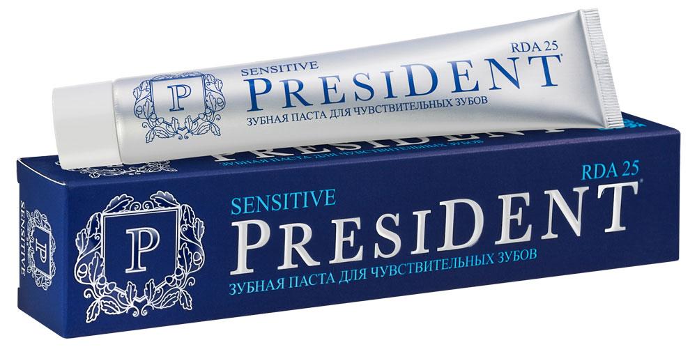 Зубная паста President Sensitive, для чувствительных зубов, 75 мл зубная паста president sensitive для чувствительных зубов 75 мл