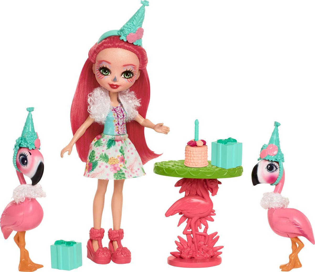 Enchantimals Игровой набор с куклой Lets Flamingle игровой набор enchantimals кукла со зверюшкой и аксессуарами в ассортименте