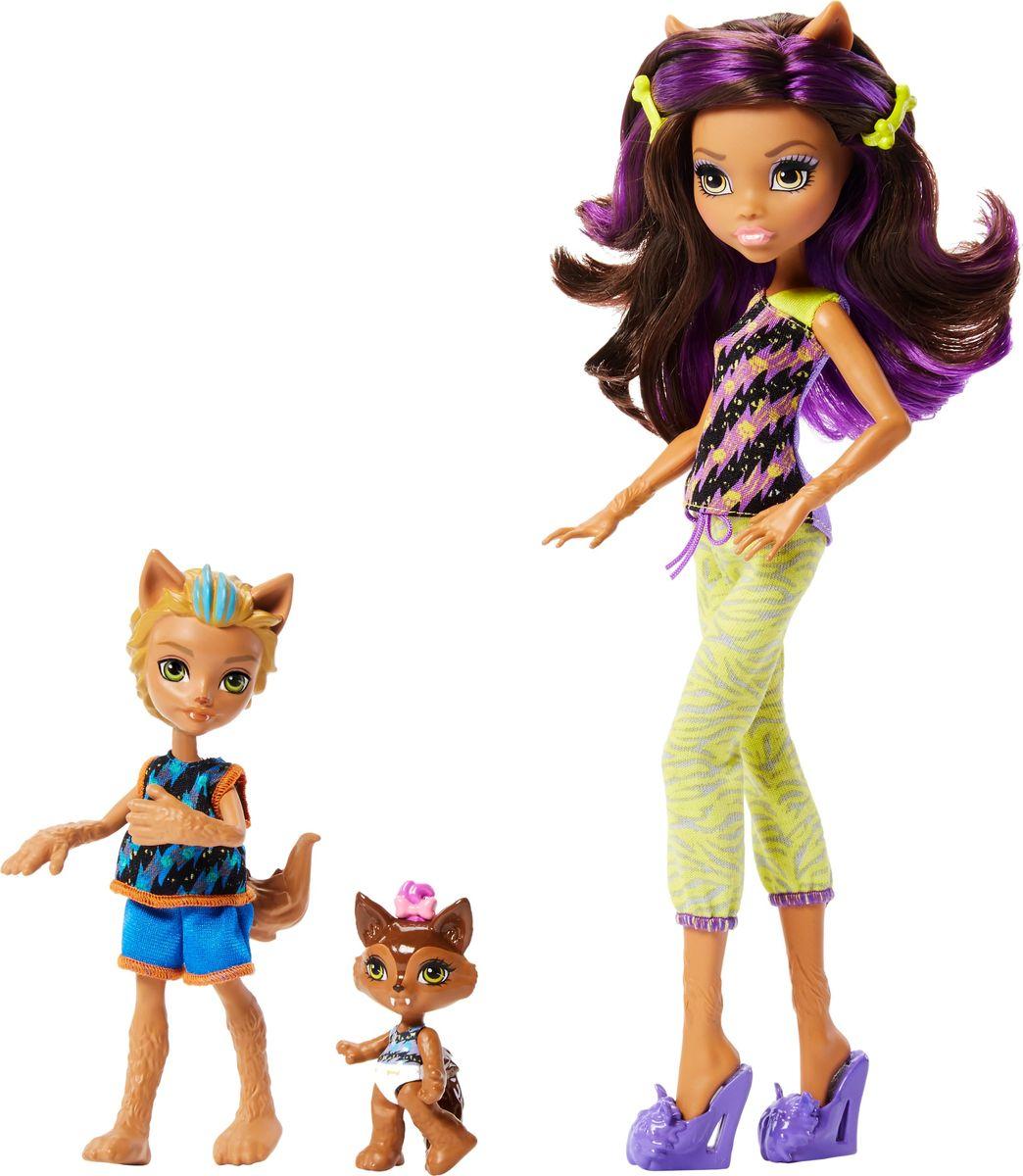 Monster High Набор кукол Семья Монстриков Клодин Вульф