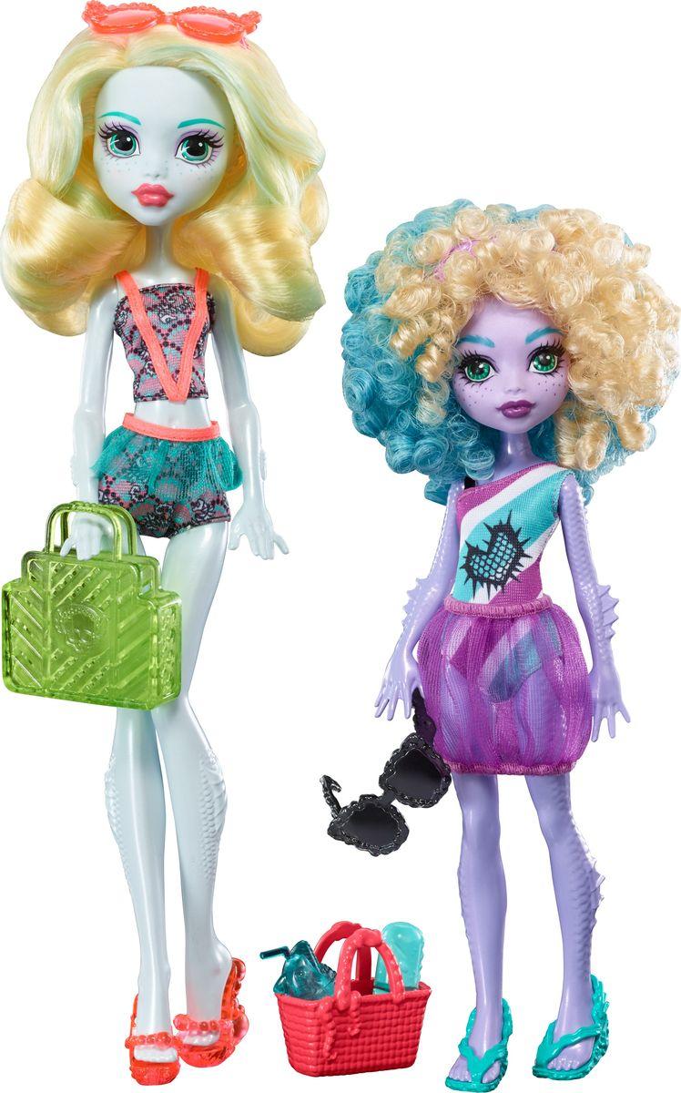 Monster High Набор кукол Семья Монстриков Лагуна Блю