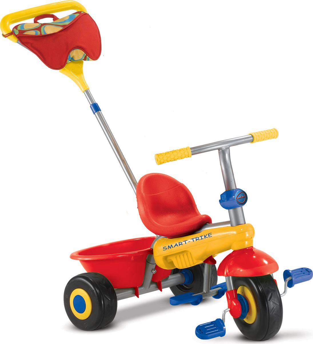 Smart Trike Велосипед трехколесный Fresh цвет красный желтый велосипед для малыша smart trike 1461800 fresh