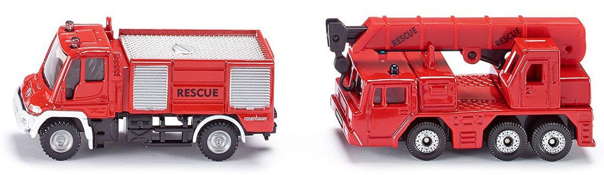 Siku Набор пожарных машин 2 шт пособия для пожарных частей