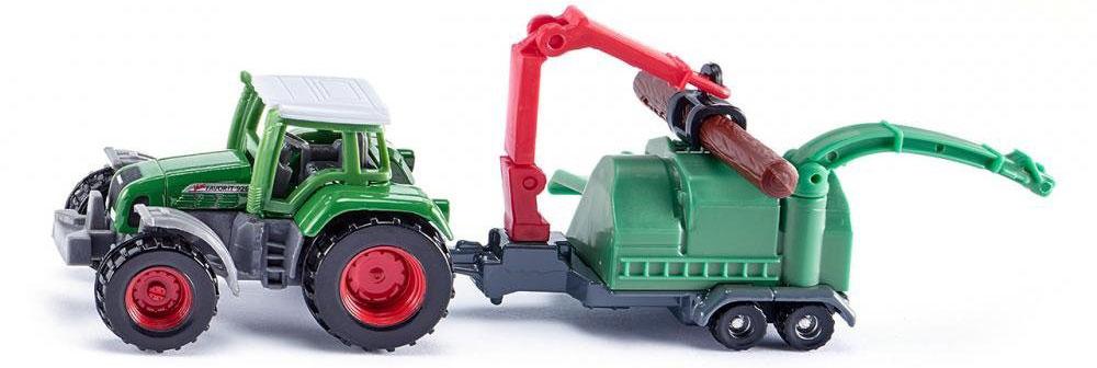 Siku Трактор JENZ с измельчителем древесины siku игрушка гидравлический кран