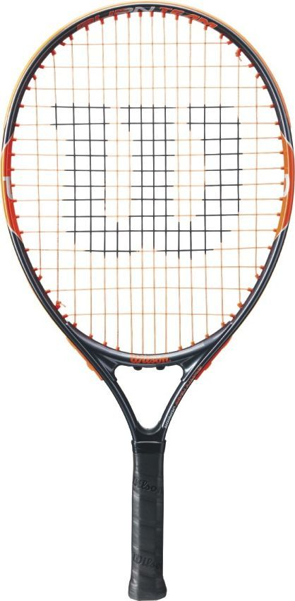 Ракетка теннисная Wilson Burn Team 21, детская ракетка теннисная wilson burn team 100 lite rkt w o cvr 2