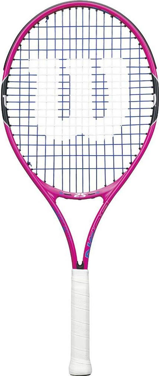 Ракетка теннисная Wilson Burn Pink 25, детская теннисная ракетка prince t361 o3 tour os