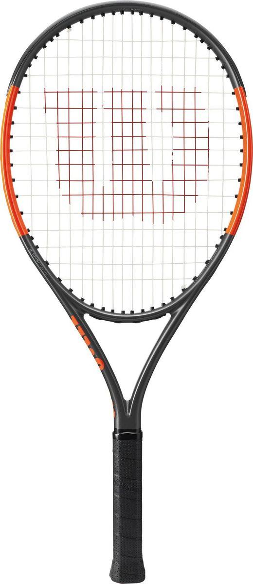 """Ракетка теннисная Wilson """"Burn 25 S"""", детская"""