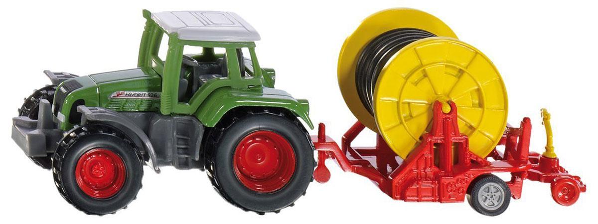 Siku Трактор с поливочной бобиной металлическая модель siku прицеп кузов 1965