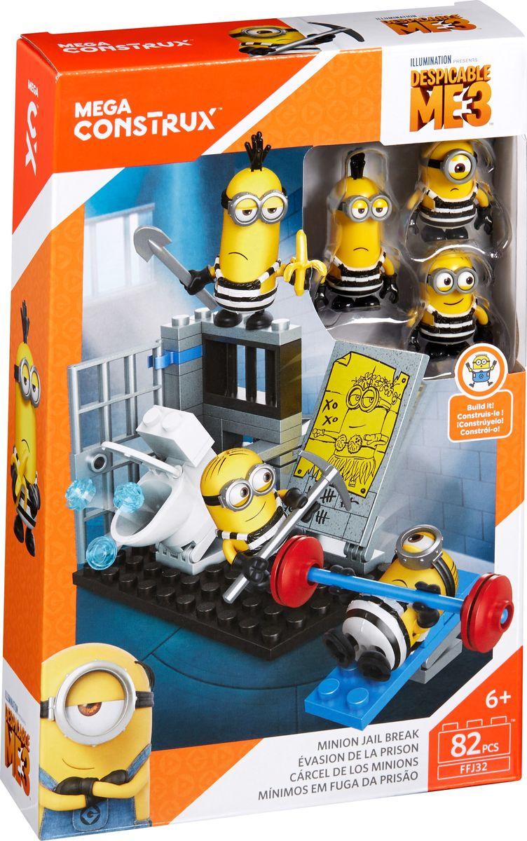 Mega Bloks Boys Конструктор Гадкий Я Маленькие игровые наборы FFJ31_FFJ32 аксессуары для кукол mega bloks табличка для имени миньоны