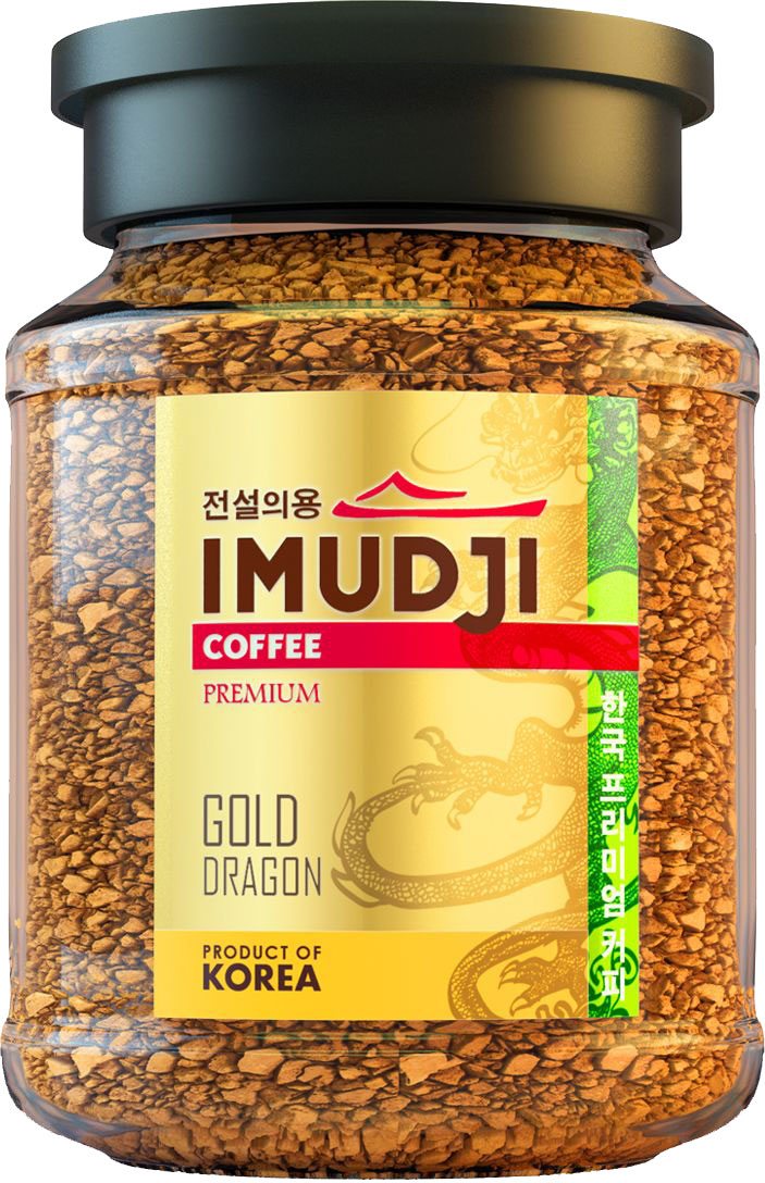 цены Imudji Gold Dragon кофе растворимый, 100 г