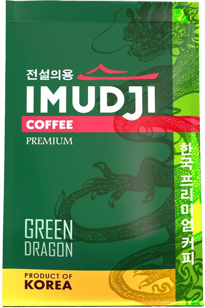 Imudji Green Dragon кофе растворимый, 100 г63102Кофейный бленд, составленный из мексиканской арабики с добавлением 15% робусты из Индонезии. Крепкийсбалансированный вкус.