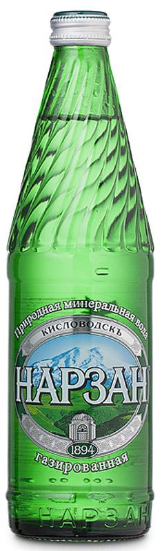 Нарзан вода газированная, стекло, 0,5 л4600536003108Лечебно-столовая сульфатно-гидрокарбонатная магниево-кальциевая вода природной газации.