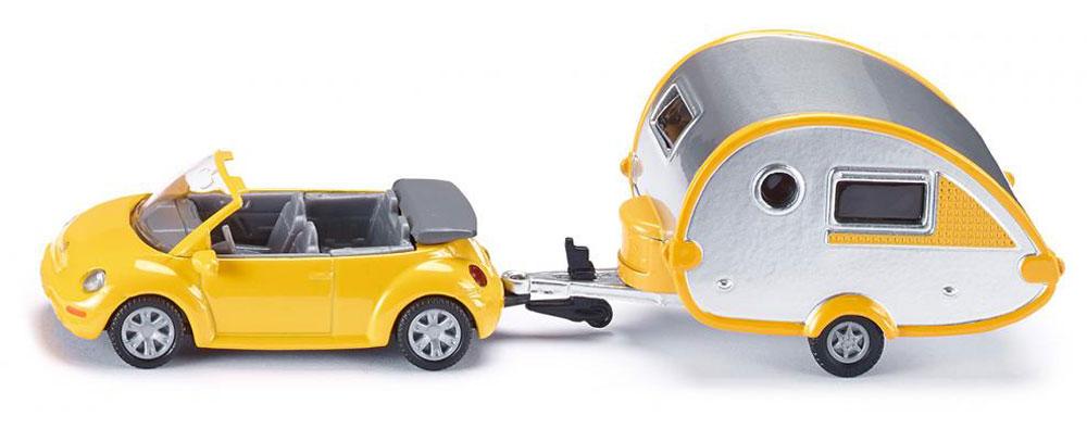 Siku Машина с домом на колесах игрушка siku полицейская патрульная машина 8 1 3 6 2 9см 1352