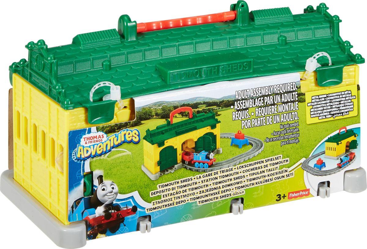 Thomas & Friends Железная дорога Депо Тидмут - Железные дороги