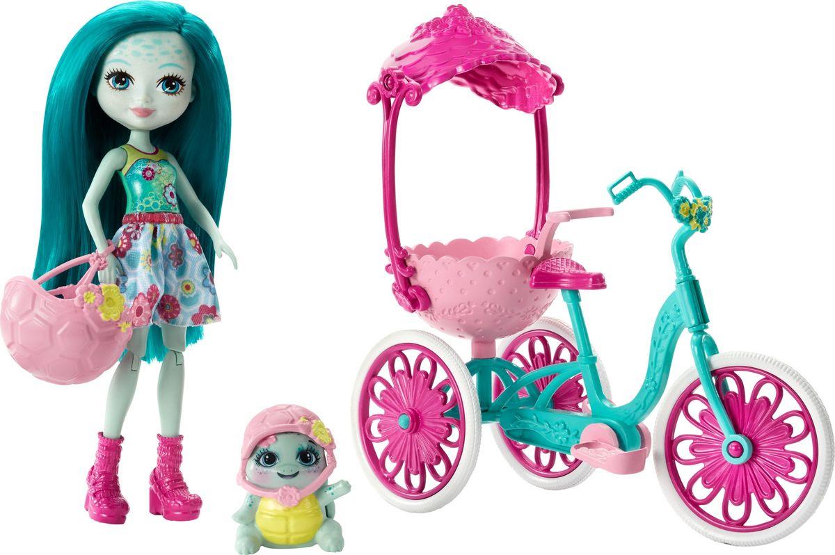 Enchantimals Игровой набор с куклой Built for Two игровой набор enchantimals кукла со зверюшкой и аксессуарами в ассортименте