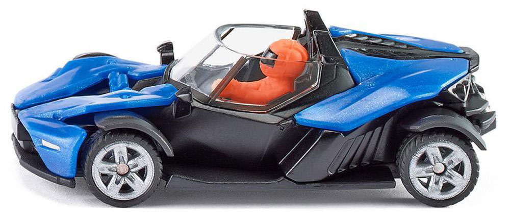 Siku Модель автомобиля KTM X-BOW GT siku космический челнок