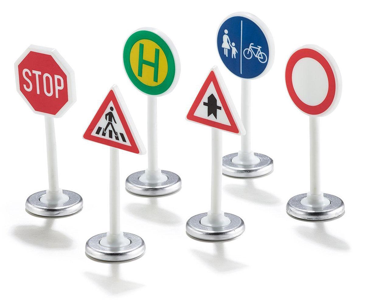 Siku Дорожные знаки 6 шт siku игровой набор светофоры и дорожные знаки