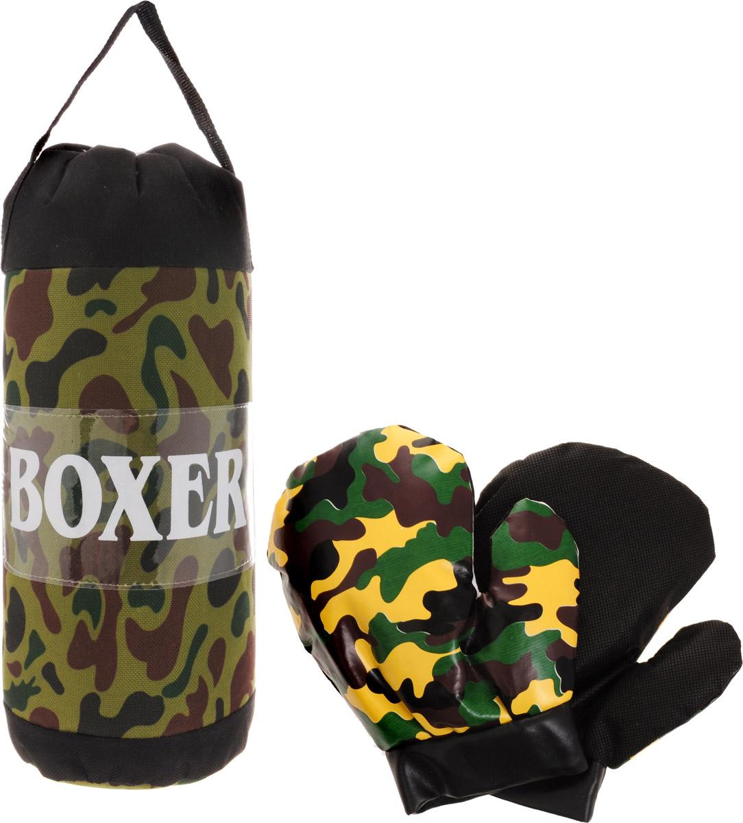 Junfa Toys Игровой набор Boxer цвет камуфляж игровой набор playmates toys патрульные багги леонардо и донателло