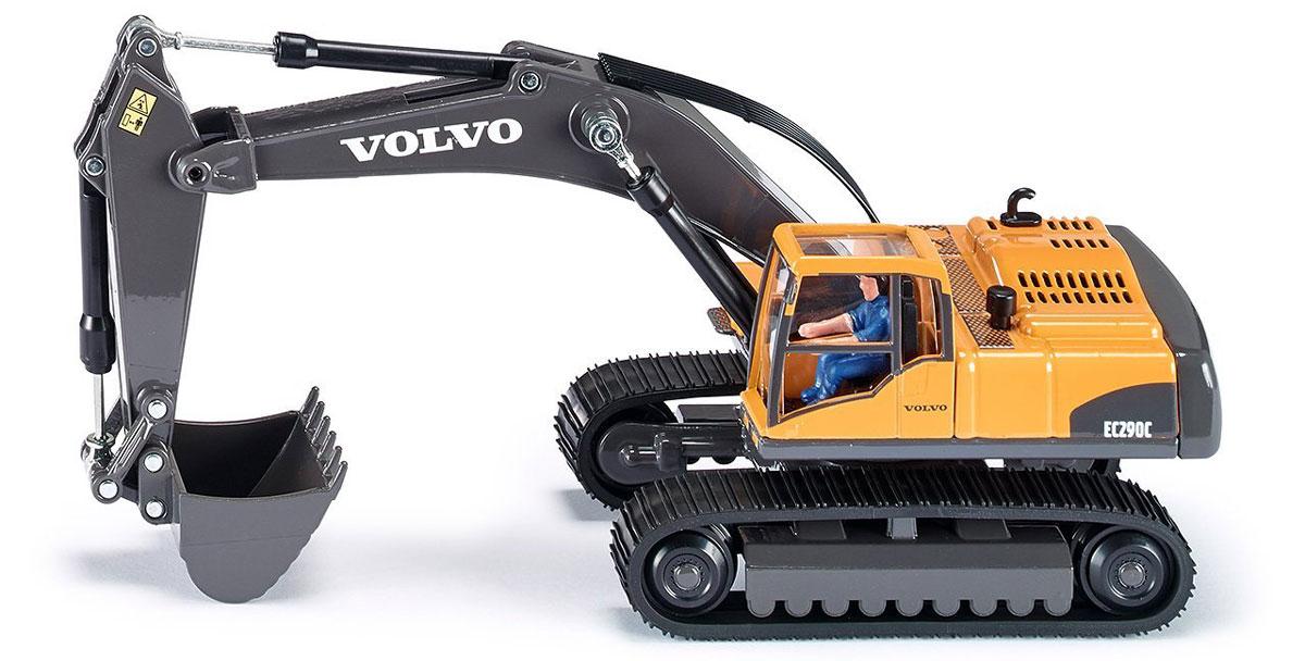 Siku Экскаватор гидравлический Volvo EC 290 siku игрушка гидравлический кран
