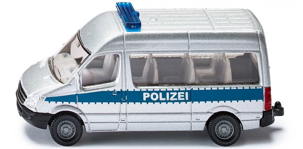 Siku Полицейский фургон siku прицеп кузов fortuna