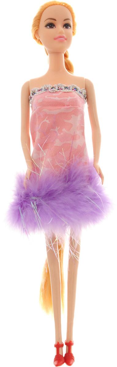 Junfa Toys Кукла Anita Fashionistas цвет платья розовый фиолетовый