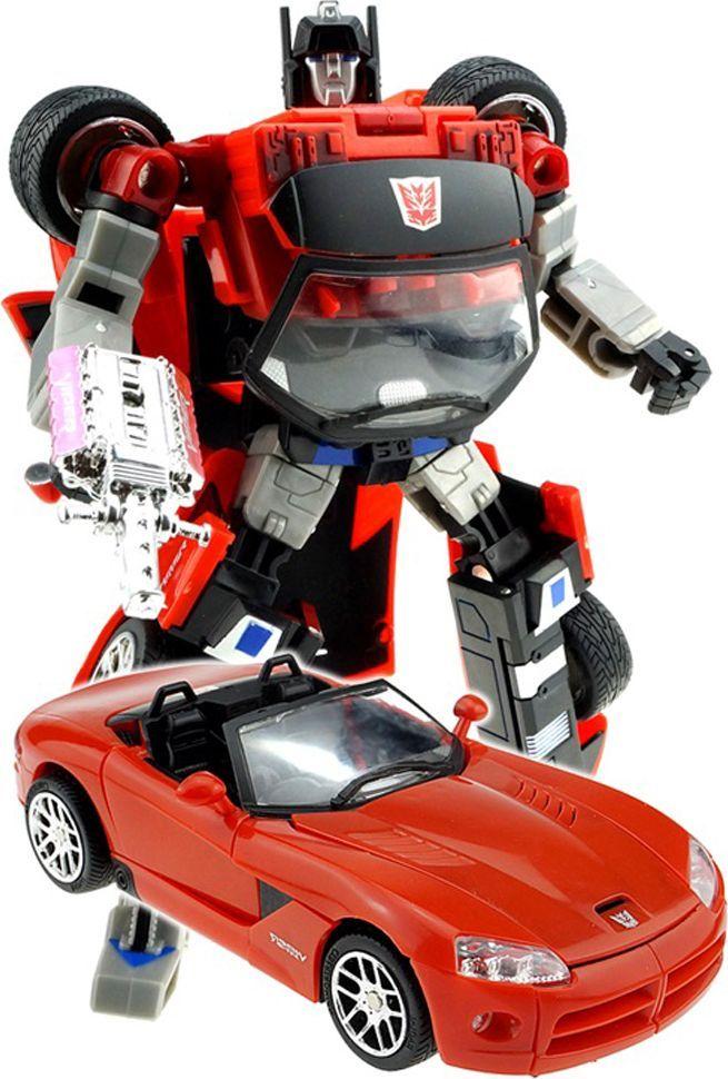 Склад уникальных товаров Робот-трансформер Кабриолет XXL игрушки для ванной склад уникальных товаров все для ванной пробка универсальная крабик