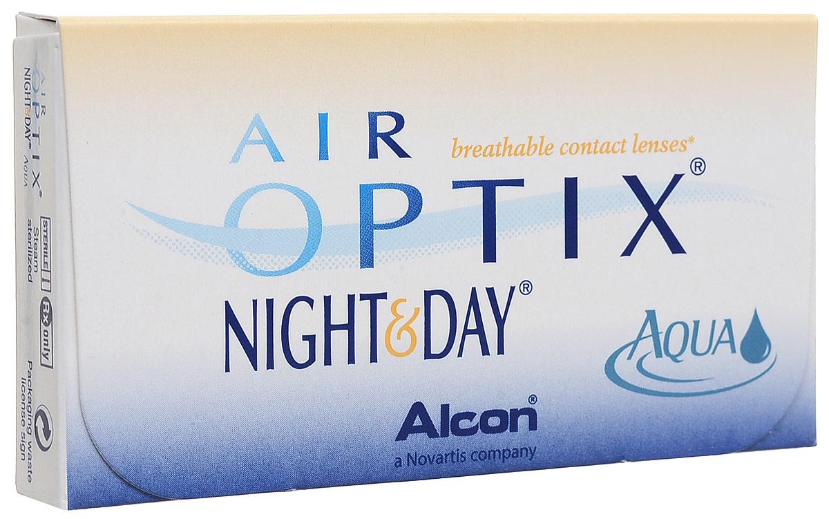 Alcon-CIBA Vision контактные линзы Air Optix Night & Day Aqua (3шт / 8.6 / -5.75)44409Само название линз Air Optix Night & Day Aqua говорит само за себя - это возможность использования одной пары линз 24 часа в сутки на протяжении целого месяца! Это уникальные линзы от мирового производителя Сiba Vision, не имеющие аналогов. Их неоспоримым преимуществом является отсутствие необходимости очищения и ухода за линзами. Линзы рассчитаны на непрерывный график ношения. Изготовлены из современного биосовместимого материала лотрафилкон А, который имеет очень высокий коэффициент пропускания кислорода, обеспечивая его доступ даже во время сна. Наивысшее пропускание кислорода! Кислородопроницаемость контактных линз Air Optix Night & Day Aqua - 175 Dk/t. Это более чем в 6 раз больше, чем у ближайших конкурентов. Еще одно отличие линз Air Optix Night & Day Aqua - их асферический дизайн. Множественные клинические исследования доказали, что поверхность линз устраняет асферические аберрации, что позволяет вам видеть более четко и повышает остроту зрения. Ежемесячные контактные линзы Air Optix Night & Day Aqua характеризуются низким содержанием воды. Именно это позволяет снизить до минимума дегидродацию. В конце дня у вас не возникнет ощущения сухости глаз или дискомфорта. С ними вы сможете наслаждаться жизнью. Контактные линзы Air Optix Night & Day Aqua смогли доказать, что непрерывное ношение линз - это безопасный и удобный метод коррекции зрения! Характеристики:Материал: лотрафилкон А. Кривизна: 8.6. Оптическая сила: - 5.75. Содержание воды: 24%. Диаметр: 13,8 мм. Количество линз: 3 шт. Размер упаковки: 9 см х 5 см х 1 см. Производитель: США. Товар сертифицирован.Уважаемые клиенты! Обращаем ваше внимание на то, что упаковка может иметь несколько видов дизайна. Поставка осуществляется в зависимости от наличия на складе.Контактные линзы или очки: советы офтальмологов. Статья OZON Гид