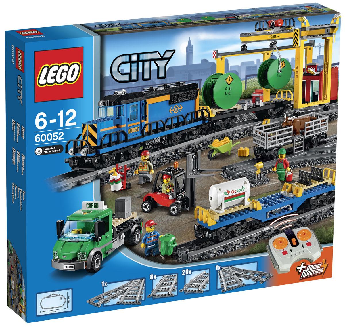 LEGO City Конструктор Грузовой поезд 60052
