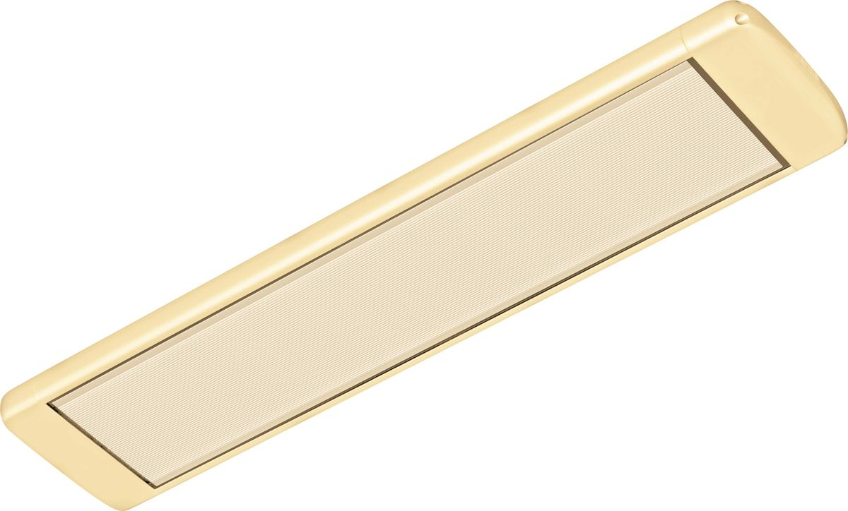 Алмак ИК-8, Beige инфракрасный обогревательИК-8 бежевыйИнфракрасный галогеновый обогреватель Алмак ИК-8 вполне уместно называть домашним Солнцем. Он функционируют исключительно в определенном волновом диапазоне и осуществляют нагрев не воздуха, а окружающих предметов. Основным конструктивным элементом инфракрасного обогревателя является излучатель, осуществляющий распространение инфракрасных волн в результате нагрева. Для подключения обогревается необходимо подвесить его к потолку и подключить в сеть через терморегулятор. В среднем установка одного обогревателя займет у вас 30-40 минут!Инфракрасная система отопления значительно меньше конвекционной системы расходует энергии на нагрев воздуха под потолком, что является одним из источников ее экономии.Инфракрасные обогреватели можно с полным правом назвать естественными источниками тепловой энергии, поскольку функционируют они в соответствии с природными процессами. Находиться в помещении будет очень приятно, поскольку обогреватели не сушат воздух. Проветривание также не приведет к потерям тепла.Как выбрать обогреватель. Статья OZON Гид