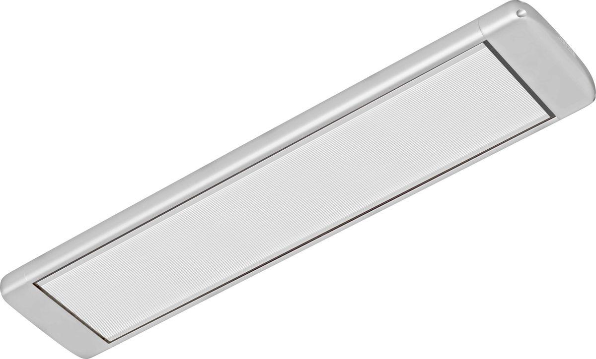 Алмак ИК-8, Silver инфракрасный обогревательИК-8 серебристыйИнфракрасный галогеновый обогреватель Алмак ИК-8 вполне уместно называть домашним Солнцем. Он функционируют исключительно в определенном волновом диапазоне и осуществляют нагрев не воздуха, а окружающих предметов. Основным конструктивным элементом инфракрасного обогревателя является излучатель, осуществляющий распространение инфракрасных волн в результате нагрева. Для подключения обогревается необходимо подвесить его к потолку и подключить в сеть через терморегулятор. В среднем установка одного обогревателя займет у вас 30-40 минут!Инфракрасная система отопления значительно меньше конвекционной системы расходует энергии на нагрев воздуха под потолком, что является одним из источников ее экономии.Инфракрасные обогреватели можно с полным правом назвать естественными источниками тепловой энергии, поскольку функционируют они в соответствии с природными процессами. Находиться в помещении будет очень приятно, поскольку обогреватели не сушат воздух. Проветривание также не приведет к потерям тепла.