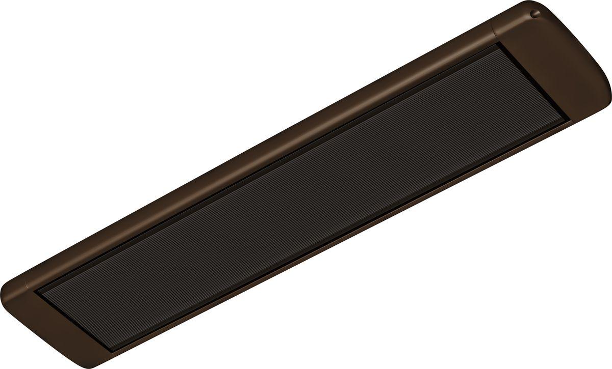 Алмак ИК-8, Wenge инфракрасный обогревательИК-8 венгеИнфракрасный галогеновый обогреватель Алмак ИК-8 вполне уместно называть домашним Солнцем. Он функционируют исключительно в определенном волновом диапазоне и осуществляют нагрев не воздуха, а окружающих предметов. Основным конструктивным элементом инфракрасного обогревателя является излучатель, осуществляющий распространение инфракрасных волн в результате нагрева. Для подключения обогревается необходимо подвесить его к потолку и подключить в сеть через терморегулятор. В среднем установка одного обогревателя займет у вас 30-40 минут!Инфракрасная система отопления значительно меньше конвекционной системы расходует энергии на нагрев воздуха под потолком, что является одним из источников ее экономии.Инфракрасные обогреватели можно с полным правом назвать естественными источниками тепловой энергии, поскольку функционируют они в соответствии с природными процессами. Находиться в помещении будет очень приятно, поскольку обогреватели не сушат воздух. Проветривание также не приведет к потерям тепла.