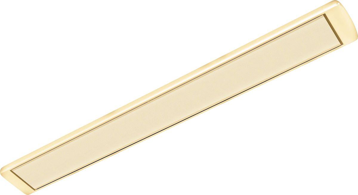 Алмак ИК-11, Beige инфракрасный обогревательИК-11 бежевыйИнфракрасный обогреватель Алмак ИК-11 вполне уместно называть домашним Солнцем. Он функционируют исключительно в определенном волновом диапазоне и осуществляют нагрев не воздуха, а окружающих предметов. Основным конструктивным элементом инфракрасного обогревателя является излучатель, осуществляющий распространение инфракрасных волн в результате нагрева. Для подключения обогревается необходимо подвесить его к потолку и подключить в сеть через терморегулятор. В среднем установка одного обогревателя займет у вас 30-40 минут!Инфракрасная система отопления значительно меньше конвекционной системы расходует энергии на нагрев воздуха под потолком, что является одним из источников ее экономии.Инфракрасные обогреватели можно с полным правом назвать естественными источниками тепловой энергии, поскольку функционируют они в соответствии с природными процессами. Находиться в помещении будет очень приятно, поскольку обогреватели не сушат воздух. Проветривание также не приведет к потерям тепла.