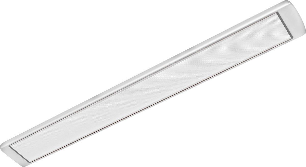 Алмак ИК-11, Silver инфракрасный обогревательИК-11 серебристыйИнфракрасный обогреватель Алмак ИК-11 вполне уместно называть домашним Солнцем. Он функционируют исключительно в определенном волновом диапазоне и осуществляют нагрев не воздуха, а окружающих предметов. Основным конструктивным элементом инфракрасного обогревателя является излучатель, осуществляющий распространение инфракрасных волн в результате нагрева. Для подключения обогревается необходимо подвесить его к потолку и подключить в сеть через терморегулятор. В среднем установка одного обогревателя займет у вас 30-40 минут!Инфракрасная система отопления значительно меньше конвекционной системы расходует энергии на нагрев воздуха под потолком, что является одним из источников ее экономии.Инфракрасные обогреватели можно с полным правом назвать естественными источниками тепловой энергии, поскольку функционируют они в соответствии с природными процессами. Находиться в помещении будет очень приятно, поскольку обогреватели не сушат воздух. Проветривание также не приведет к потерям тепла.Как выбрать обогреватель. Статья OZON Гид