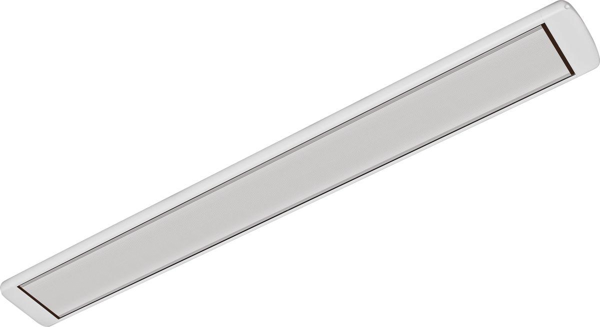 Алмак ИК-13, White инфракрасный обогревательИК-13 белыйИнфракрасный обогреватель Алмак ИК-13 вполне уместно называть домашним Солнцем. Он функционируют исключительно в определенном волновом диапазоне и осуществляют нагрев не воздуха, а окружающих предметов. Основным конструктивным элементом инфракрасного обогревателя является излучатель, осуществляющий распространение инфракрасных волн в результате нагрева. Для подключения обогревается необходимо подвесить его к потолку и подключить в сеть через терморегулятор. В среднем установка одного обогревателя займет у вас 30-40 минут!Инфракрасная система отопления значительно меньше конвекционной системы расходует энергии на нагрев воздуха под потолком, что является одним из источников ее экономии.Инфракрасные обогреватели можно с полным правом назвать естественными источниками тепловой энергии, поскольку функционируют они в соответствии с природными процессами. Находиться в помещении будет очень приятно, поскольку обогреватели не сушат воздух. Проветривание также не приведет к потерям тепла.