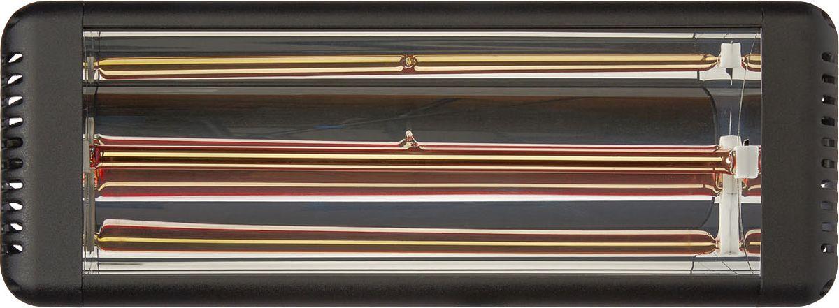 Алмак ИК7А, Black инфракрасный галогеновый обогревательIR7A Gr.Инфракрасный галогеновый обогреватель Алмак ИК7А вполне уместно называть домашним Солнцем. Он функционируют исключительно в определенном волновом диапазоне и осуществляют нагрев не воздуха, а окружающих предметов. Основным конструктивным элементом инфракрасного обогревателя является излучатель, осуществляющий распространение инфракрасных волн в результате нагрева. Для подключения обогревается необходимо подвесить его к потолку и подключить в сеть через терморегулятор. В среднем установка одного обогревателя займет у вас 30-40 минут!Инфракрасная система отопления значительно меньше конвекционной системы расходует энергии на нагрев воздуха под потолком, что является одним из источников ее экономии.Инфракрасные обогреватели можно с полным правом назвать естественными источниками тепловой энергии, поскольку функционируют они в соответствии с природными процессами. Находиться в помещении будет очень приятно, поскольку обогреватели не сушат воздух. Проветривание также не приведет к потерям тепла.