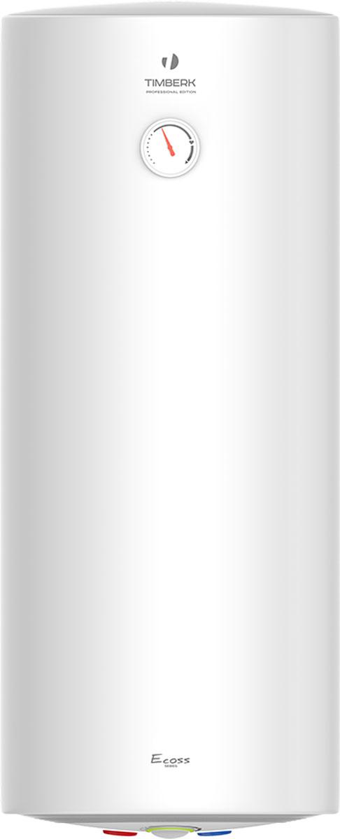 """Электрический накопительный водонагреватель Тimberk SWH RS1 подготовит большое количество горячей воды и будет поддерживать заданную температуру автоматически. Он идеально подходит для снабжения горячей водой загородных домов, коттеджей, бань и прочих индивидуальных бытовых помещений.Новая технология крепления крышек водонагревателя Hidden Force делает его дизайн неповторимым благодаря отсутствию швов на фронтальной поверхности водонагревателя. Прочный стальной корпус покрыт белоснежной матовой эмалью. Эргономичная панель управления, выполнена в пастельных тоннах. В режиме нагрева световая индикация светится ярко-розовым светом, в обычном режиме - модным голубым светом.Водонагреватель имеет равномерный нагрев воды благодаря оптимизированной системе переливов. Высокий уровень энергоэффективности достигается с помощью слоя высококачественной теплоизоляции, равномерно """"без пустот"""" заполняющему внутреннее пространство между корпусом и баками. Реальное снижение теплопотерь благодаря полному отсутствию тепловых мостиков. Позиция терморегулятора расположена оптимально. Она  соответствует наиболее комфортной температуре нагрева воды в баке (+58° (+/-2°С)), а также наиболее эффективному режиму расхода электроэнергии.Внутренние резервуары и все компоненты выполнены из нержавеющей стали SUS 304 толщиной 1,2 ммУвеличенный магниевый анод защищает внутренние резервуары от коррозии и уменьшает количество образующейся накипиМедный нагревательный элемент благодаря специальному защитному покрытию имеет увеличенный срок службы"""