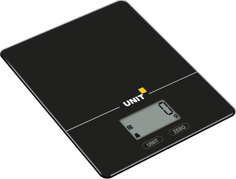 Unit UBS-2154 кухонные весыCE-0473296Кухонные весы Unit UBS-2154 с классическим дизайном станут незаменим помощником на кухне. Прибор предназначен для взвешивания продуктов массой до 5 кг, цена одного деления 1 грамм. Весы наделены такими функциями, как автоматическое выключение, тарокомпенсация и индикация заряда батареи.Цифровой жидкокристаллический дисплейИзмерение объема воды и молока