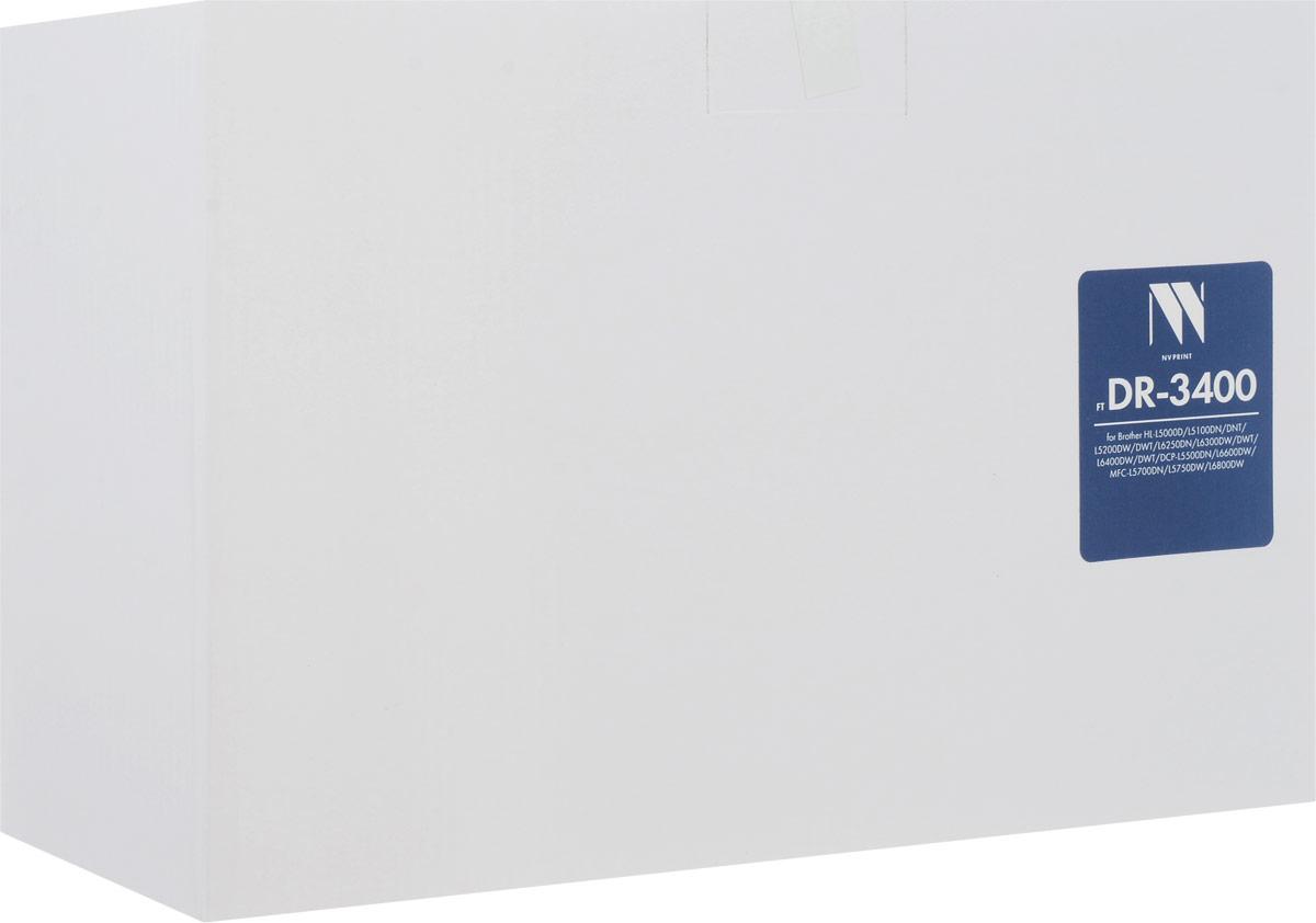 NV Print DR3400 фотобарабан для Brother HL-L5000D/L5100DN/L5100DNT/L5200DW/L5200DWT/L6250DN/L6300DW/L6300DWT/L6400DW/L6400DWT/DCP-L5500DN/L6600DW/MFC-L5700DN/L5750DW/L6800DWNV-DR3400Фотобарабан NV Print DR3400 производится по оригинальной технологии из совершенно новых комплектующих. Все картриджи проходят тестовую проверку на предмет совместимости и имеют сертификаты качества.Лазерные принтеры, копировальные аппараты и МФУ являются более выгодными в печати, чем струйные устройства, так как лазерных картриджей хватает на значительно большее количество отпечатков, чем обычных.