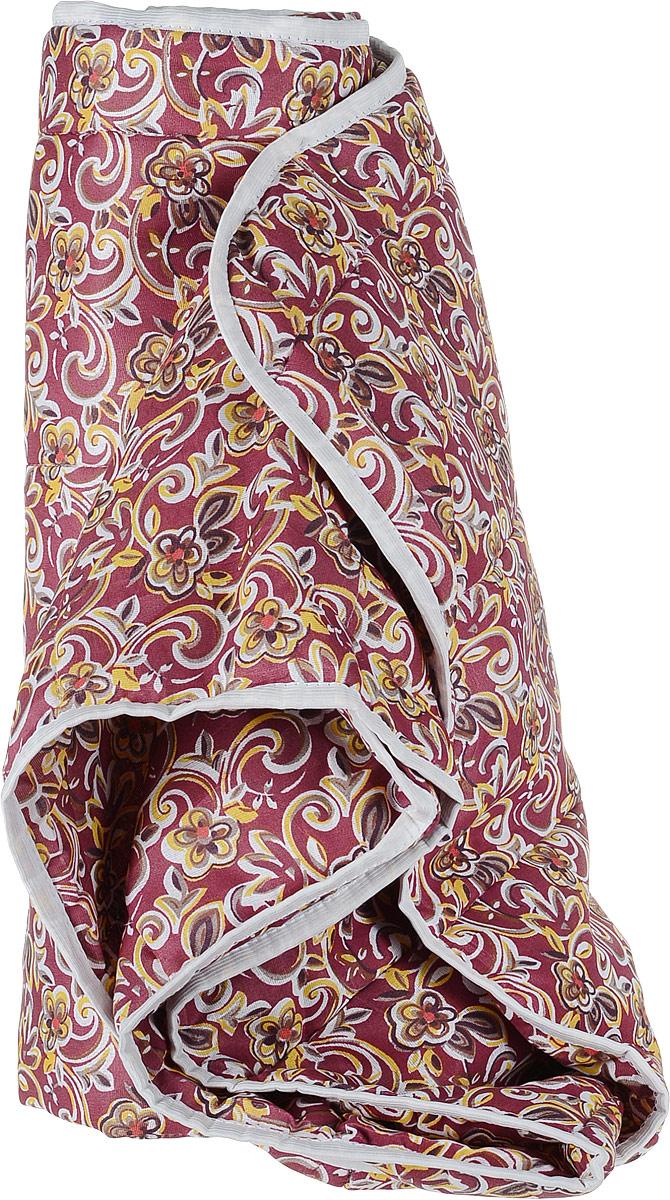 Одеяло летнее OL-Tex Miotex, наполнитель: полиэфирное волокно Holfiteks, цвет: темно-красный, белый, 140 х 205 смМХПЭ-15-1_квадраты с разноцветными рисункамиЛегкое летнее одеяло OL-Tex Miotex создаст комфорт и уют во время сна. Чехол выполнен из полиэстера и оформлен красочным цветочным рисунком. Внутри - современный наполнитель из полиэфирного высокосиликонизированного волокна холфитекс, упругий и качественный. Прекрасно держит тепло. Одеяло с наполнителем холфитекс легкое и комфортное. Даже после многократных стирок не теряет свою форму, наполнитель не сбивается, так как одеяло простегано и окантовано.Рекомендации по уходу:- Ручная и машинная стирка при температуре 30°С.- Не гладить.- Не отбеливать. - Нельзя отжимать и сушить в стиральной машине.- Сушить вертикально. Размер одеяла: 140 см х 205 см. Материал чехла: 100% полиэстер. Материал наполнителя: холфитекс.