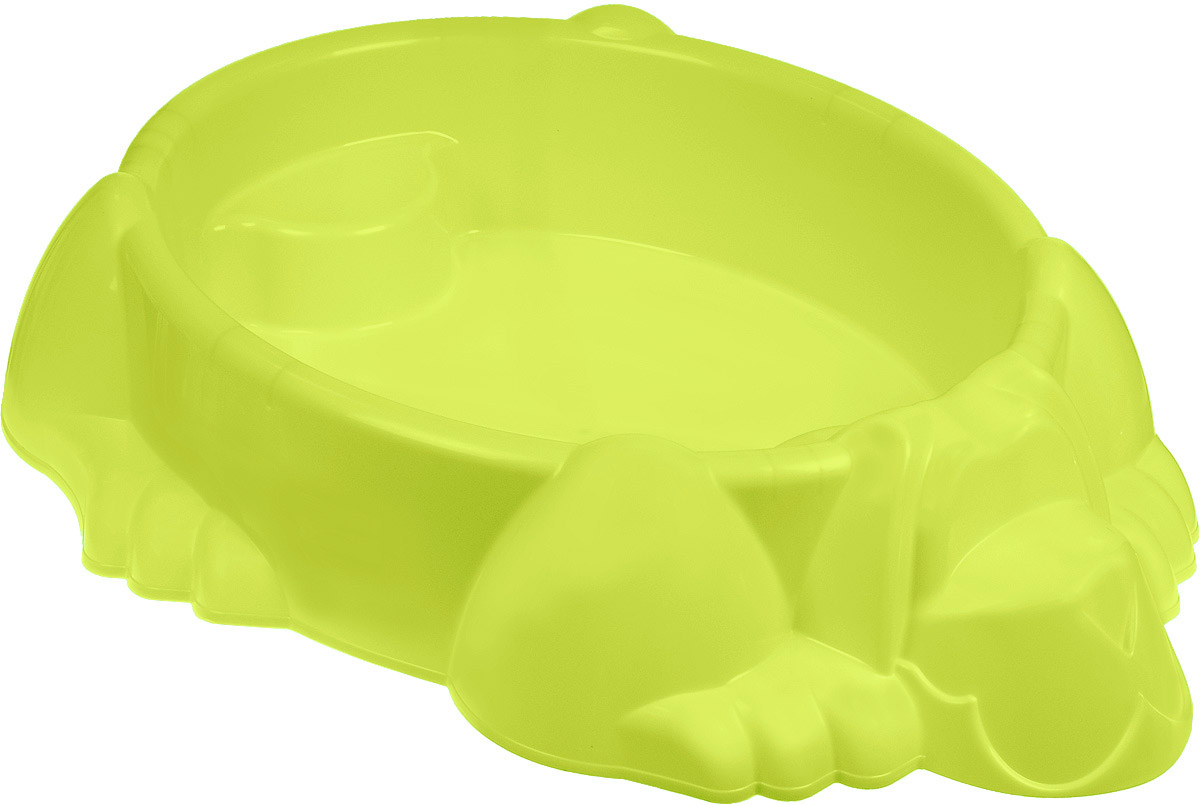 PalPlay Бассейн-песочница Собачка цвет светло-зеленый песочницы palplay marian plast песочница бассейн собачка крышка