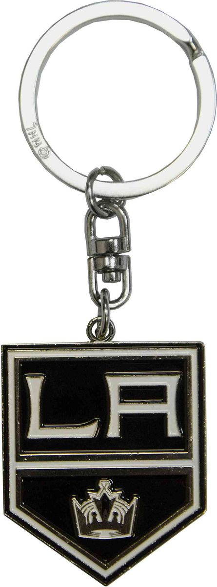 Брелок Atributika & Club Los Angeles Kings, цвет: черный. 5501455014Брелок Atributika & Club выполнен из металла в виде символики вашего любимого клуба. Брелок дополнен небольшой цепочкой и заводным кольцом. Длина: 4,5 см.