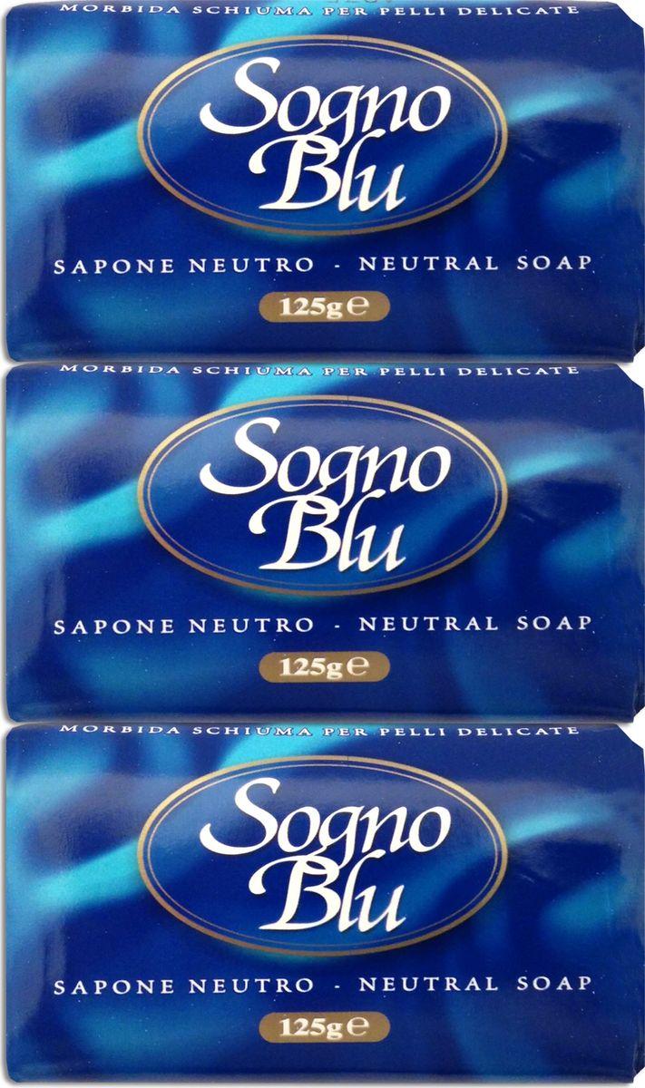 Nesti Dante Набор мыла Sogno Blu Голубая мечта, 3 х 125 г1033316Замечательный набор кускового душистого мыла серии Sogno Blu ( голубая мечта) от итальянской компании NESTI DANTE, знаменитой высочайшим качеством натуральной косметики, изготовленной по уникальным старинным рецептам. Мыло производится по классической котловой технологии с применением натурального оливкового масла первого холодного отжима. Средство превосходно очищает кожу, удаляет ороговевшие частицы, при этом глубоко увлажняет и питает ее. Не содержит искусственных красителей и отдушек, гипоаллергенно. При регулярном использовании этого мыла кожа приобретает природную эластичность и здоровый цвет.