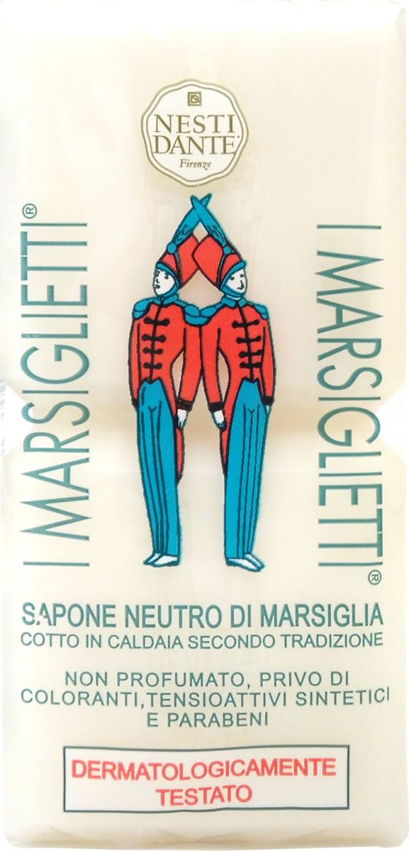 Nesti Dante Мыло I Marsiglietti Марсельское Традиционное, 200 г nesti dante мыло amorino soap мечта о море 150 г