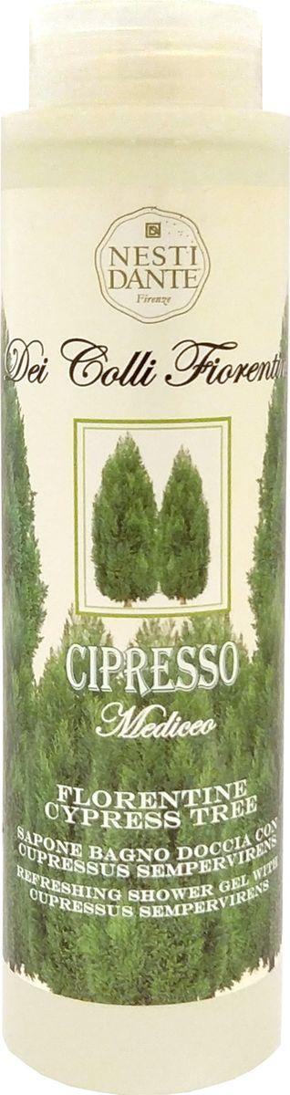 Nesti Dante Гель для душа Cypress Tree Кипарис, 300 мл5055106Кипарис - красивое, вечнозеленое дерево, в изобилии произрастающее на холмах Тосканы с «богатым» древесным ароматом является основным активным ингредиентом и геля для душа. Он обладает восстанавливающими свойствами, деликатно воздействуют даже на чувствительную кожу. Простой рецепт молодости и здоровья Вашей кожи! Без парабенов.
