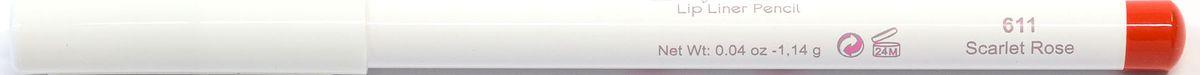 Cherie Ma Cherie Карандаш для губ Soft Silk №61157611Мягкая текстура карандаша для губ Soft SILK легко и приятно наносится на нежную кожу век. Уникальный состав на основе масел. Абсолютно гипоаллергенен. Мягкий карандаш подчеркивает контур губ, делая их форму более выразительной.