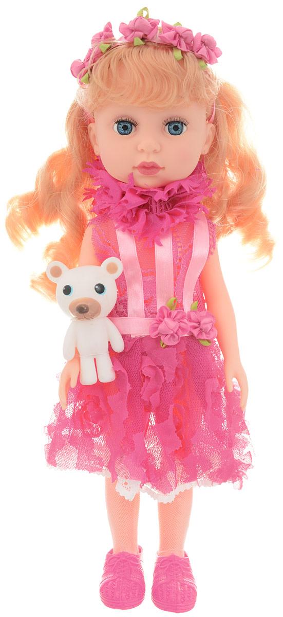 ABtoys Кукла Времена года цвет платья розовый с игрушкой abtoys кукла зимняя фея сноусторм